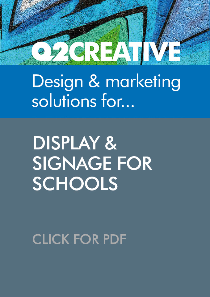 Display & Signage for Schools